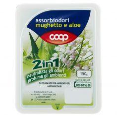 Coop-assorbiodori mughetto e aloe 2in1 150 g