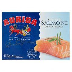 SAN CUSUMANO-Auriga Selezione San Cusumano Filetti di Salmone al Naturale 115 g