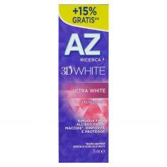 AZ-AZ Ricerca Dentifricio 3D White Ultra White 65 ml + 10ml