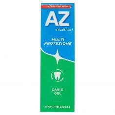 AZ-AZ Ricerca Dentifricio con Fluoro Attivo Multi Protezione Carie Gel 75 ml
