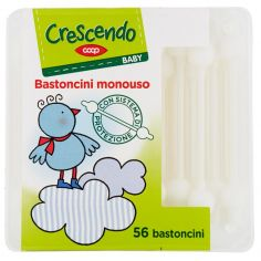 Coop-Baby Bastoncini monouso 56 pz