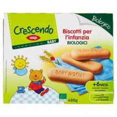 Coop-Baby Biscotti per l'infanzia Biologici 480 g