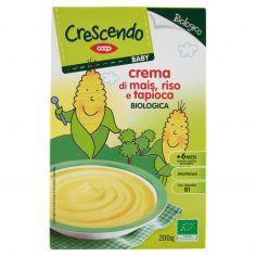 Coop-Baby crema di mais, riso e tapioca Biologica 200 g