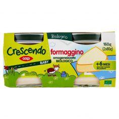 Coop-Baby formaggino omogeneizzato Biologico 2 x 80 g