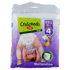 Coop-Baby Mutandine 4 Maxi 8-15 Kg 21 pz