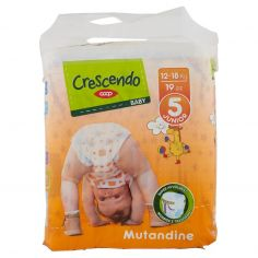 Coop-Baby Mutandine 5 Junior 12-18 Kg 19 pz