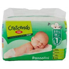 Coop-Baby Pannolini 1 Primi Giorni 2-5 Kg 28 pz
