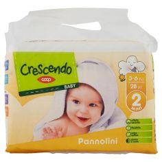 Coop-Baby Pannolini 2 Mini 3-6 Kg 28 pz