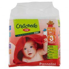 Coop-Baby Pannolini 3 Midi 4-9 Kg 29 pz