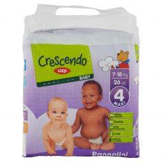 Coop-Baby Pannolini 4 Maxi 7-18 Kg 26 pz