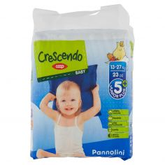 Coop-Baby Pannolini 5+ Junior Plus 13-27 Kg 23 pz