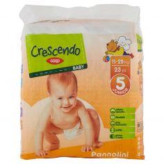 Coop-Baby Pannolini 5 Junior 11-25 Kg 23 pz