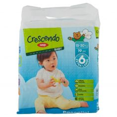 Coop-Baby Pannolini 6 Extra Large 15-30 Kg 19 pz