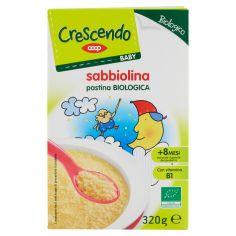 Coop-Baby sabbiolina pastina Biologica 320 g