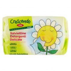 Coop-Baby Salviettine Detergenti Delicate 63+63 pz