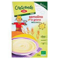 Coop-Baby semolino di grano Biologico 200 g