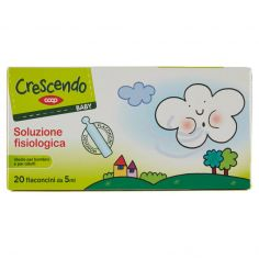 Coop-Baby soluzione fisiologica Flaconcini Monouso 20 x 5 ml