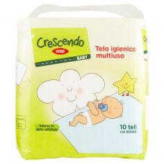 Coop-Baby Telo igienico multiuso cm 60x60 10 pz