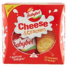BABY BEL-Babybel Cheese & Crackers 2 x 40 g
