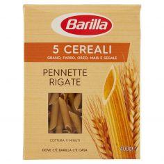 BARILLA-Barilla 5 Cereali Pennette Rigate 400 g