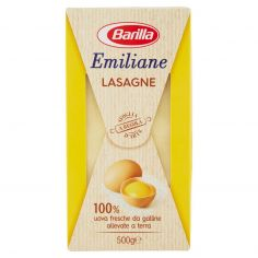 EMILIANE-Barilla Emiliane Lasagne all'Uovo 500 g