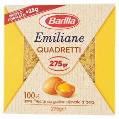 EMILIANE-Barilla Emiliane Quadretti all'Uovo 275 g