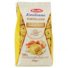 EMILIANE-Barilla Emiliane Tortelloni con Prosciutto Crudo e Parmigiano Reggiano 250 g