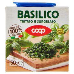 Coop-Basilico Tritato e Surgelato 50 g