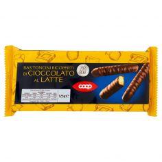 Coop-Bastoncini Ricoperti di Cioccolato al Latte 125 g