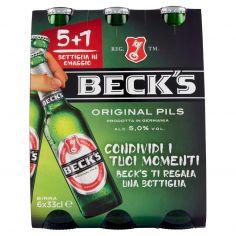 BECK'S-Beck's 6 x 33 cl