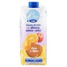 Coop-Bevanda alla frutta con albicocca, arancia e pesca 750 ml