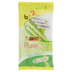 BIC LADY-Bic Pure lady Rasoio 6 pz + 2