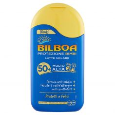 BILBOA-Bilboa Bimbi Latte Solare SPF 50+ Molto Alta 200 ml