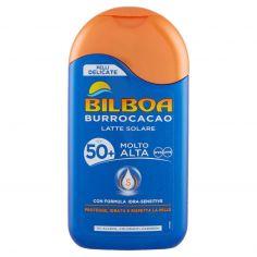 BILBOA-Bilboa Burrocacao Latte Solare SPF 50+ Molto Alta 200 ml