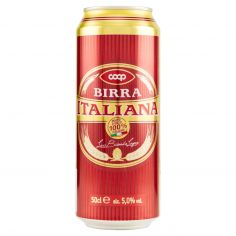Coop-Birra Italiana la Bionda Lager 50 cl