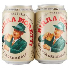 BIRRA MORETTI-Birra Moretti 2 x 33 CL