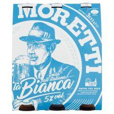 BIRRA MORETTI-Birra Moretti la Bianca 3 x 33 cl