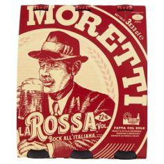 BIRRA MORETTI-Birra Moretti la Rossa 3 x 33 cl