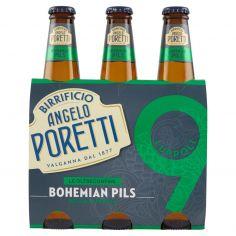 BIRRIFICIO ANGELO PORETTI-Birrificio Angelo Poretti Le Oltreconfine 9 Luppoli Bohemian Pils 3 x 33 cl