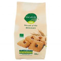 Coop-biscotti al riso Biologici 300 g