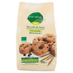 Coop-biscotti di farro con gocce di cioccolato Biologici 300 g
