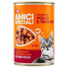 Coop-Bocconcini con Pollo e Tacchino 415 g