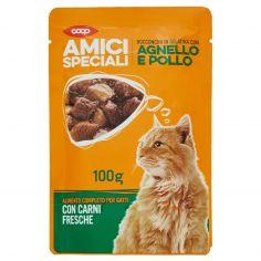Coop-Bocconcini in Gelatina con Agnello e Pollo 100 g
