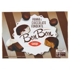 Coop-Bon Bon Panna e Cioccolato Fondente 12 x 9,2 g