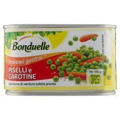 BONDUELLE-Bonduelle Insiemi gustosi Piselli e Carotine 400 g