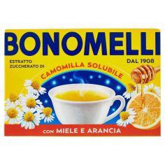 BONOMELLI-Bonomelli Estratto Zuccherato di Camomilla Solubile con Miele e Arancia 16 x 5 g