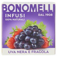 BONOMELLI-Bonomelli Infusi 100% Naturali Uva Nera e Fragola 10 Filtri 23 g