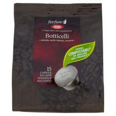 Coop-Botticelli 15 Capsule di Caffè Tostato e Macinato 95 g
