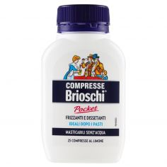 BRIOSCHI-Brioschi Compresse Pocket 25 Compresse al Limone 25 g