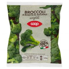 Coop-Broccoli a Rosette al Naturale surgelati 400 g